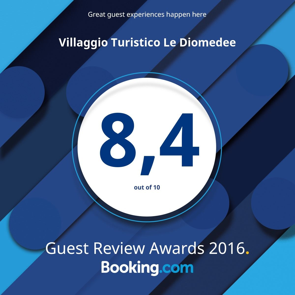 Grazie a tutti i nostri ospiti di @bookingcom per le fantastiche recensioni! #guestsloveus