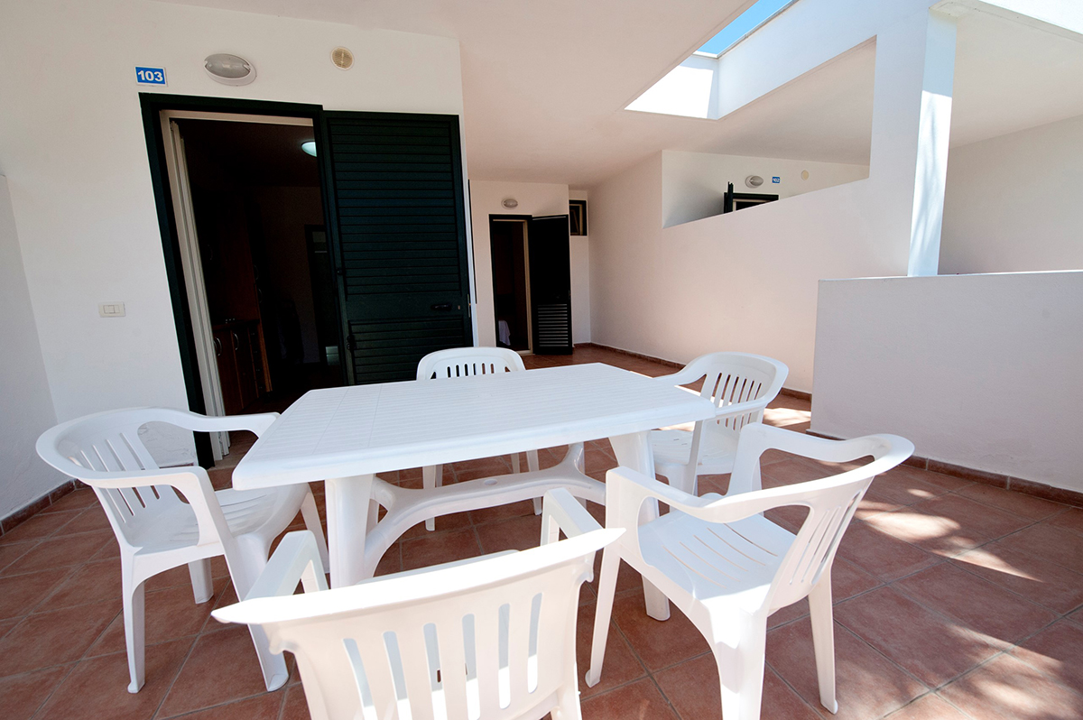 Bungalow in Vieste on the sea