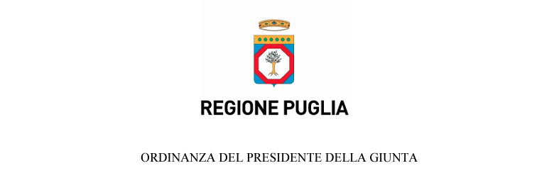 Covid-19 Regione Puglia