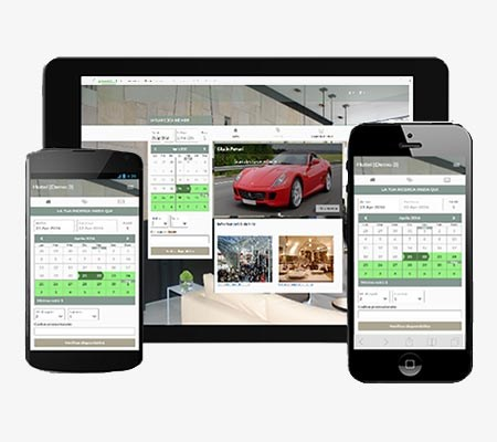 Booking engine responsive