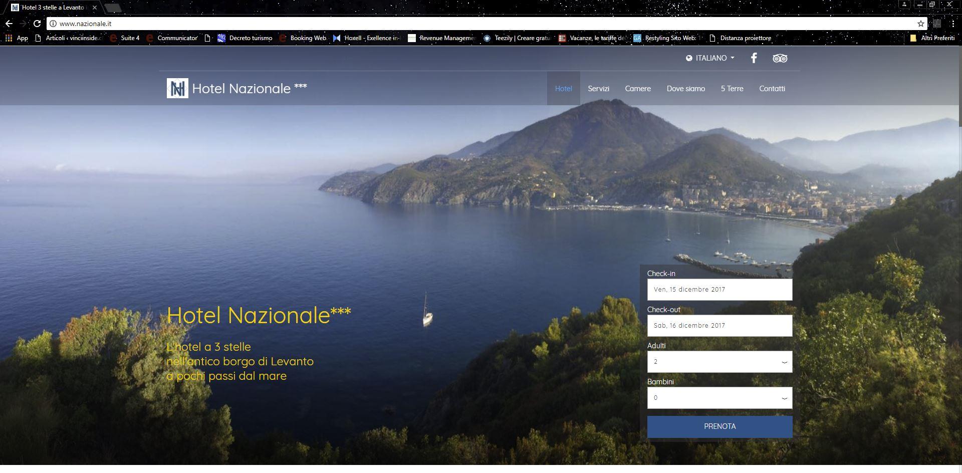 Hotel nazionale levanto sp for Bel soggiorno genova