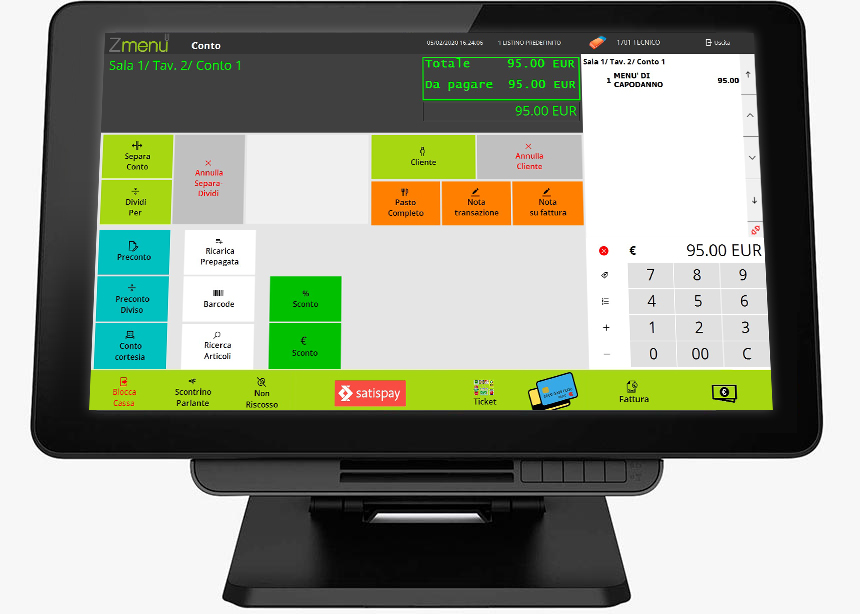 Software for restaurant
